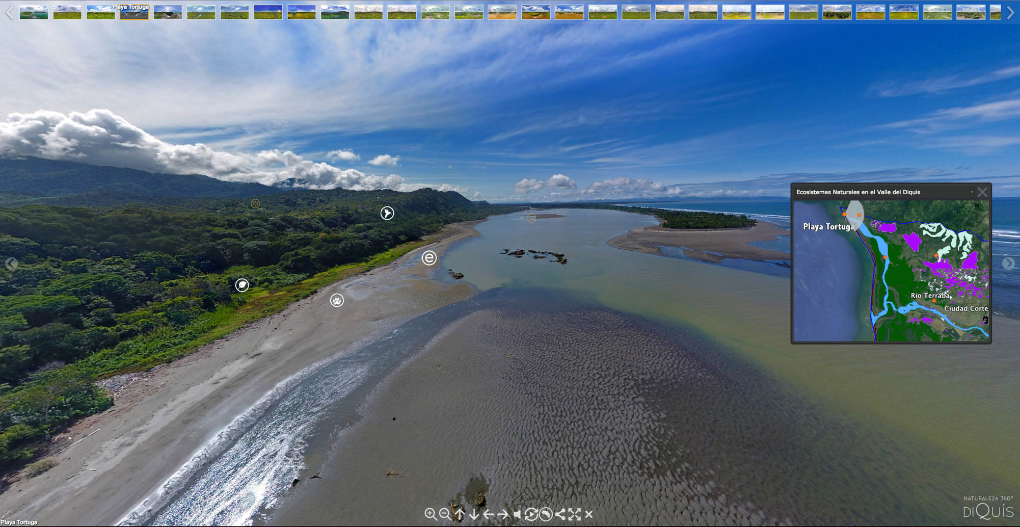 NATURE 360° | Discover the Diquís in 360° aerial photographs